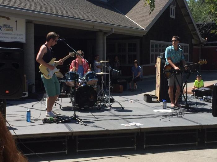 My favorite local band, Crow Canyon, playing at Picnic Day.