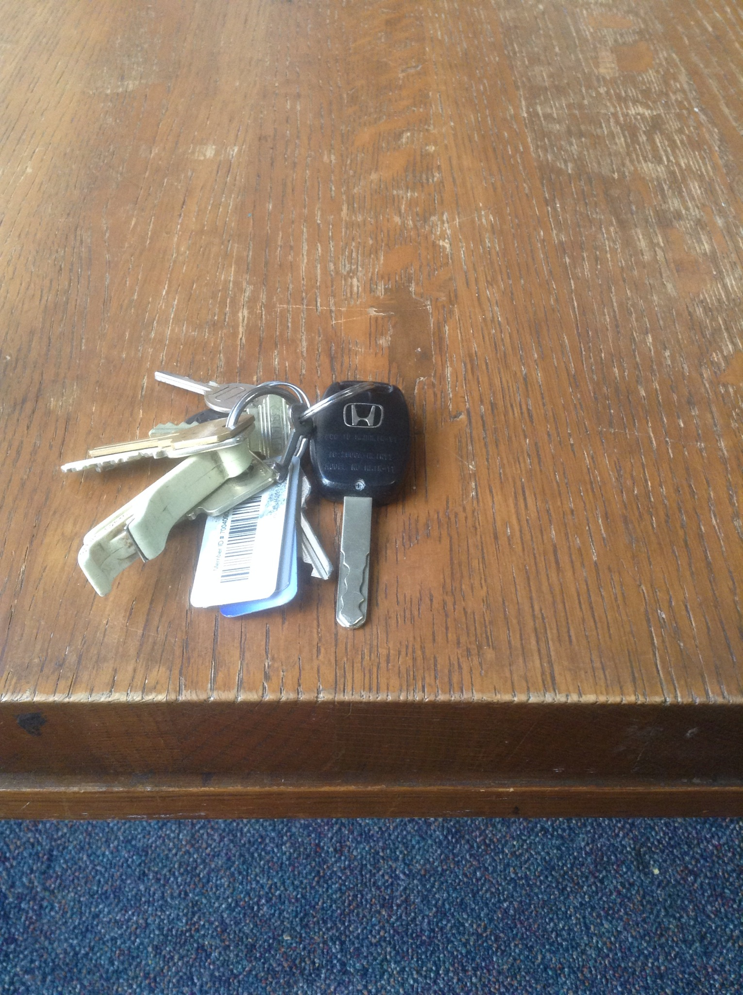 No More Work Keys