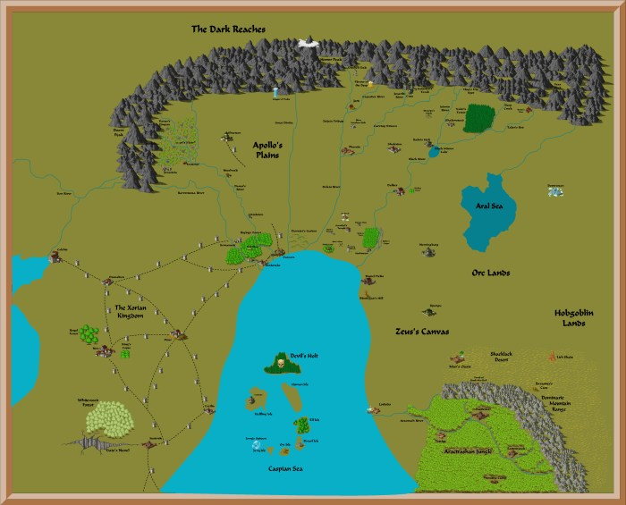 Map of Cimmeria