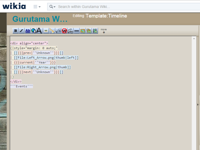 I'm even learning how to code using Wikia's source language!