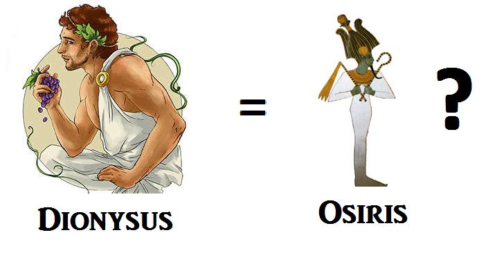 Dionysus Osiris Syncretism