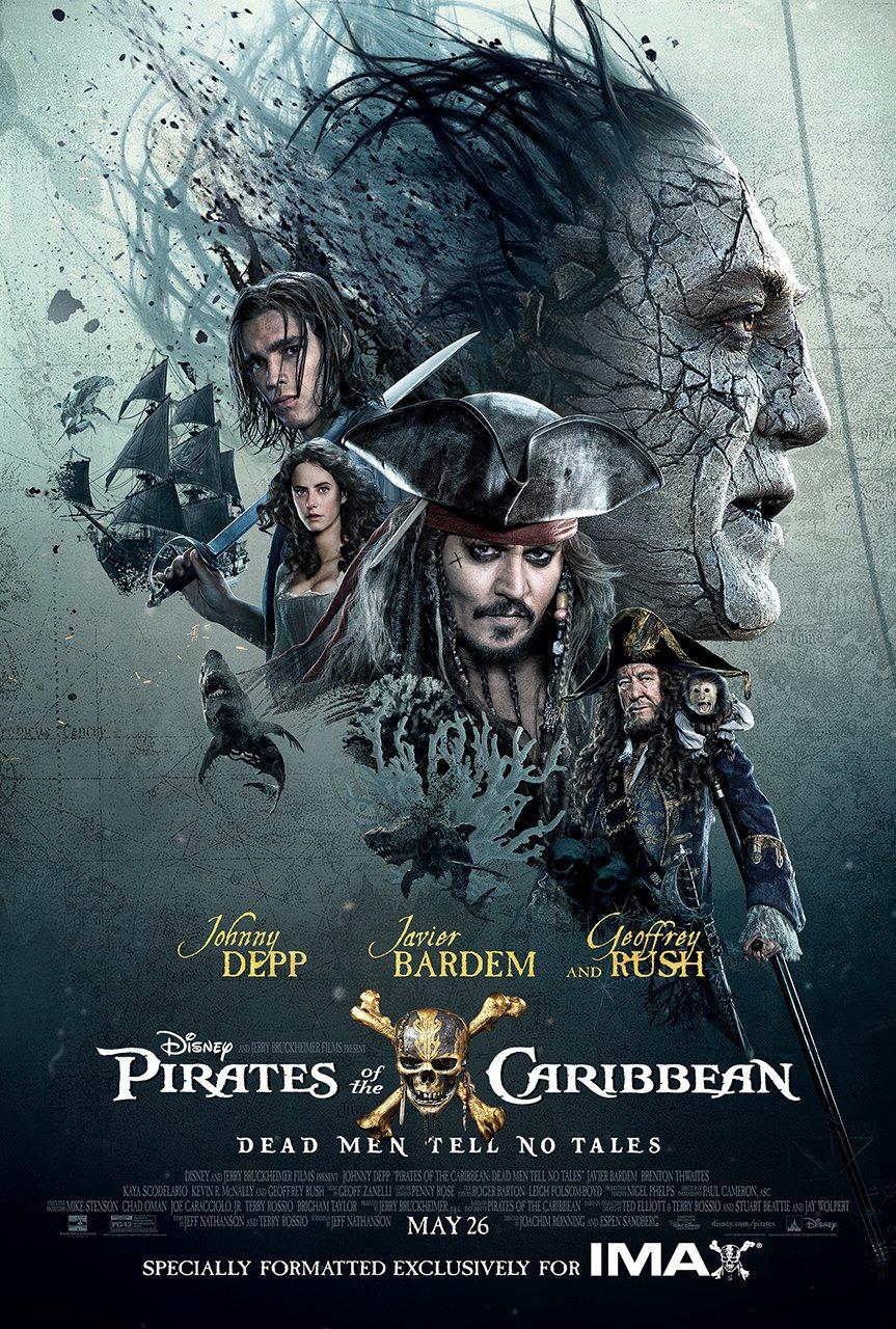 Pirates Dead Men Tell No Tales