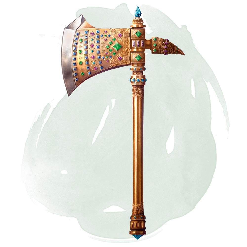 Fierce Axe of Dwarvish Lords